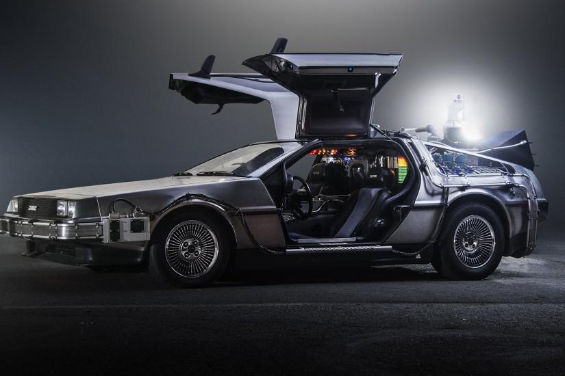 1985 DeLorean DMC-12 Back-to-the-Future sci-fi futuristic custom concept  supercar wallpaper | 1920x1440 | 848298 | WallpaperUP