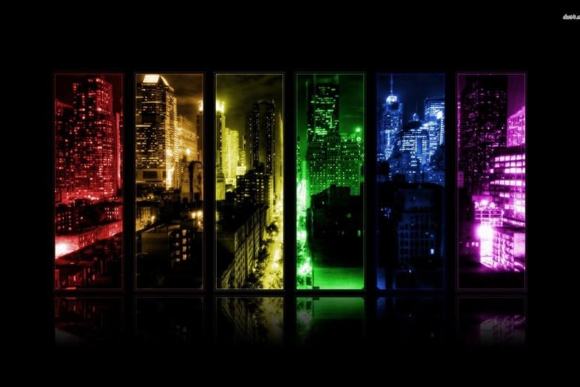 City Through The Window Wallpaper 337680 ...
