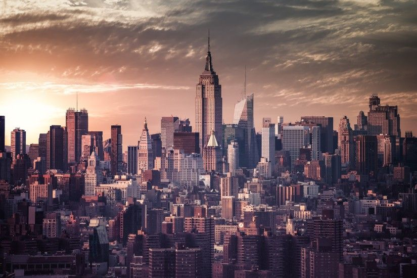 New York City Skyline Wallpaper in High Resolution at City Wallpaper .