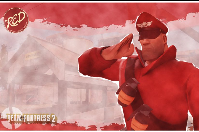 Team Fortress 2 Wallpaper Soldier by marcoshypnos Team Fortress 2 Wallpaper  Soldier by marcoshypnos