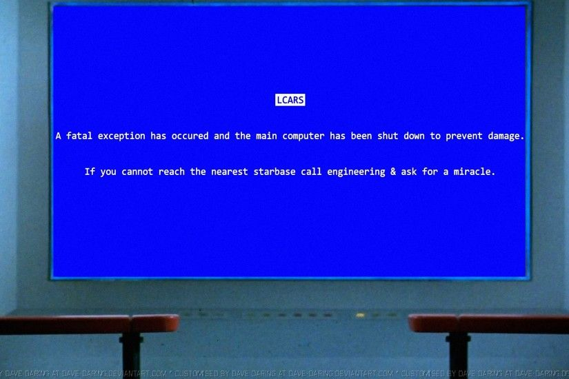 Rixshaw 18 0 Star Trek BSOD by Dave-Daring