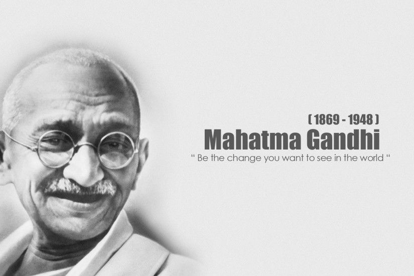 Mahatma Gandhi wide HD wallpapers and images