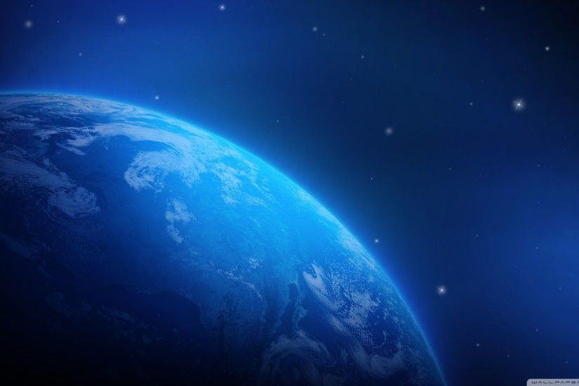 The Blue Planet HD desktop wallpaper : Widescreen : High