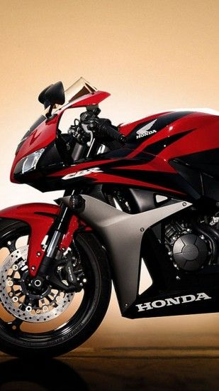 1440x2560 Wallpaper honda, motorbike, red, honda cbr
