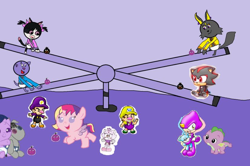 The Backyardigans images Babies Pepper Patra Twilight Sparkle waluigi Blaze  Cadence wario Espio Spike Shadow & Austin - Viole HD wallpaper and  background ...