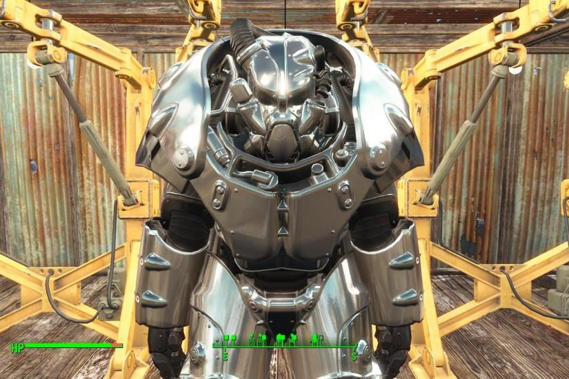 Fallout 4 XO-1 Power Armor and Robot Friend