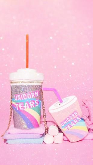 wallpaper, iPhone, android, background, HD, pink, unicorn