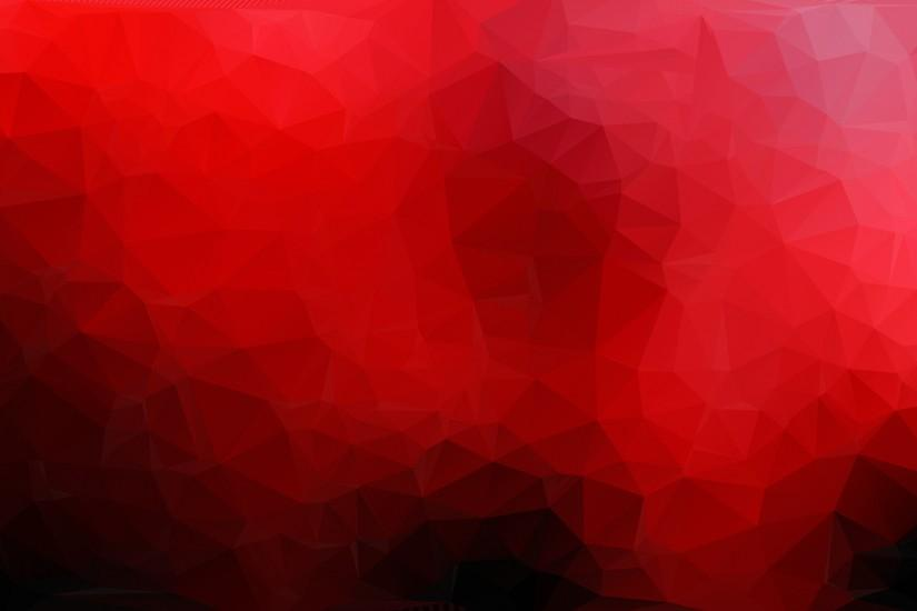 Red Abstract Polygon Triangle Background
