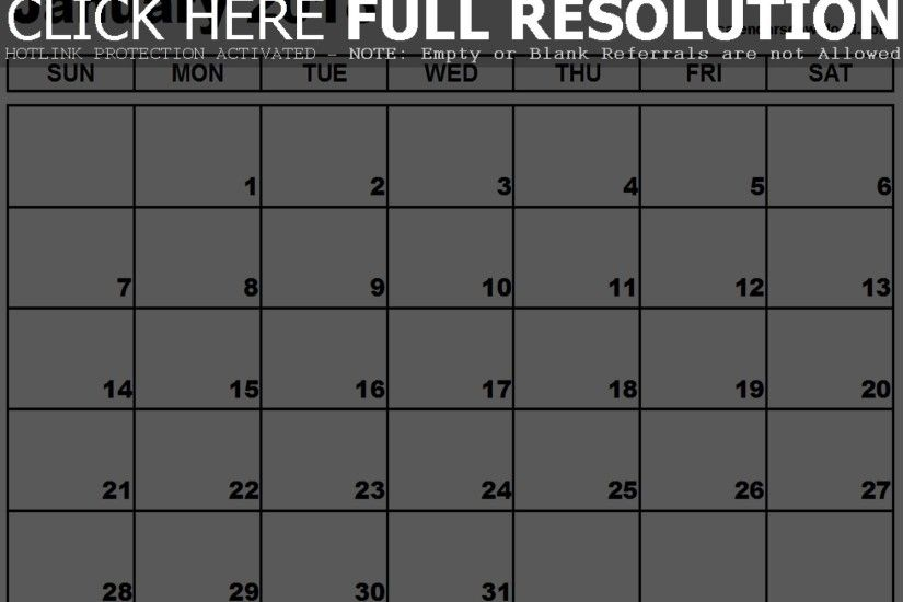 January 2018 Calendar In Excel