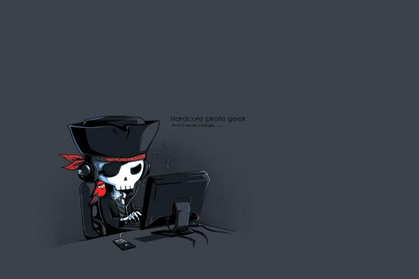 Pirate Geek Wallpaper 5420 Full Size Full Size - Image Search n .