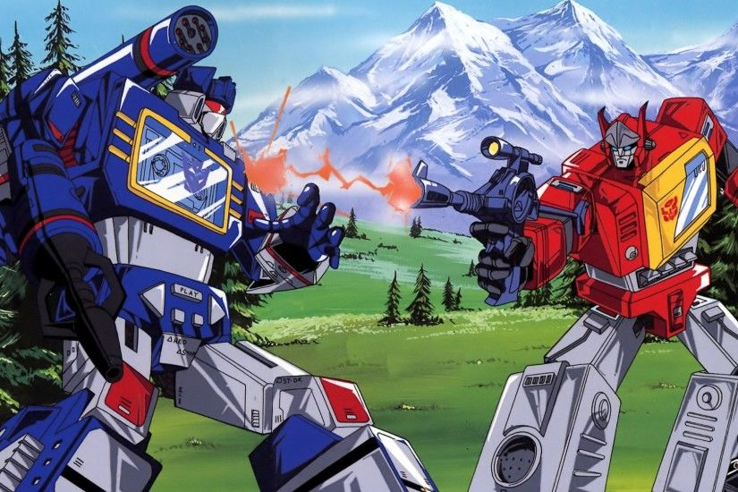 Preview wallpaper transformers, g1, blaster, soundwave 1920x1080