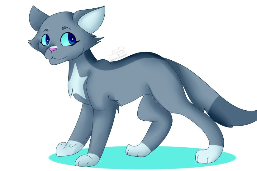 ... Bluestar|Warrior Cats Fan Art by DarkyBlame
