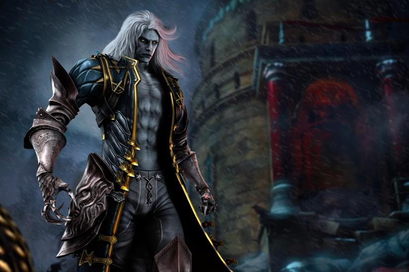 Castlevania Lords of Shadow Character Alucard wallpaper