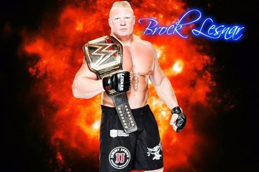 Brock Lesnar Background Free Download.