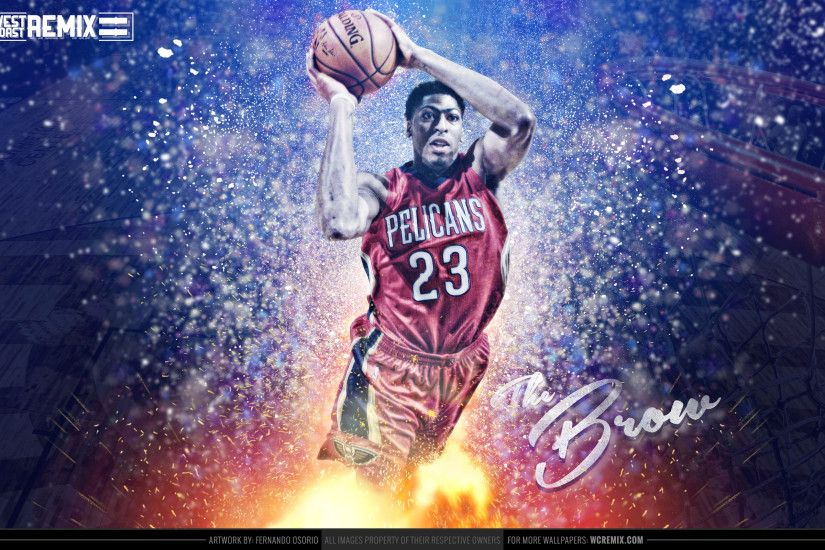 Anthony Davis Pelicans 2015 Wallpaper