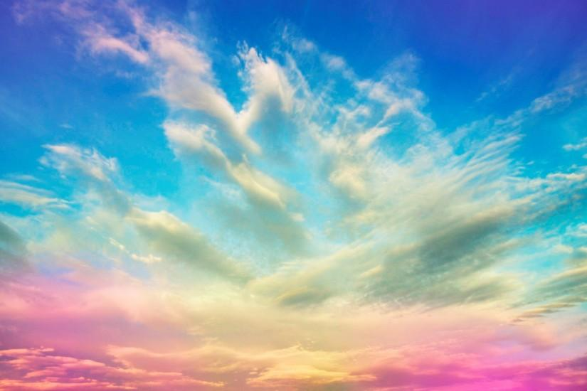 Multi-colored sky wallpapers and images - wallpapers, pictures, photos
