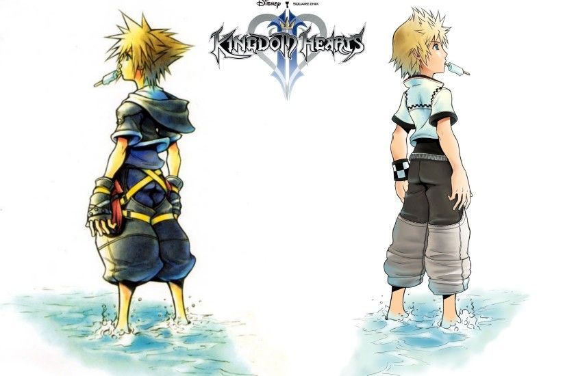 Kingdom Hearts Roxas Wallpapers Widescreen
