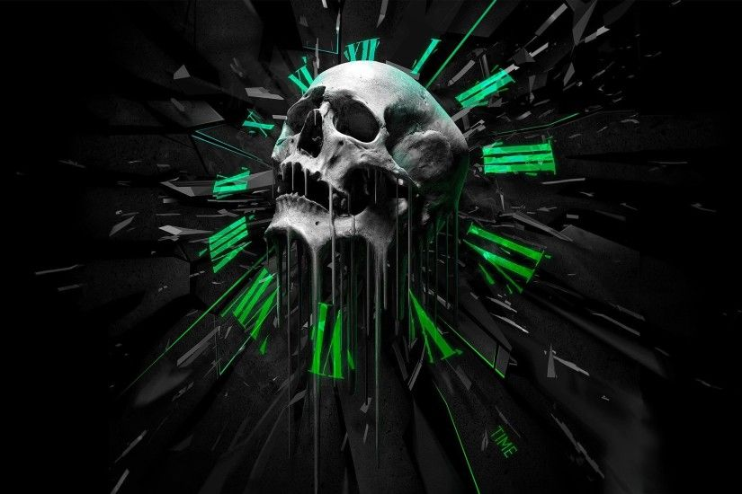 3D Art Skull Wallpaper | HD 3D and Abstract Wallpaper Free Download ...