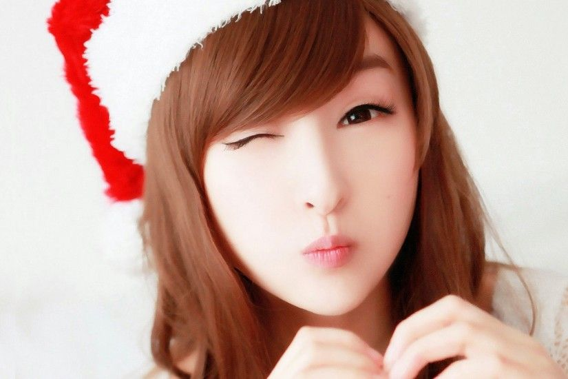 cute-beautiful-asian-girl-Christmas-hat-hd-wallpaper-1920x1200.jpg  (1920×1200) | Kawaii-Fashion:3 | Pinterest | Kawaii fashion, Kawaii and  Fashion