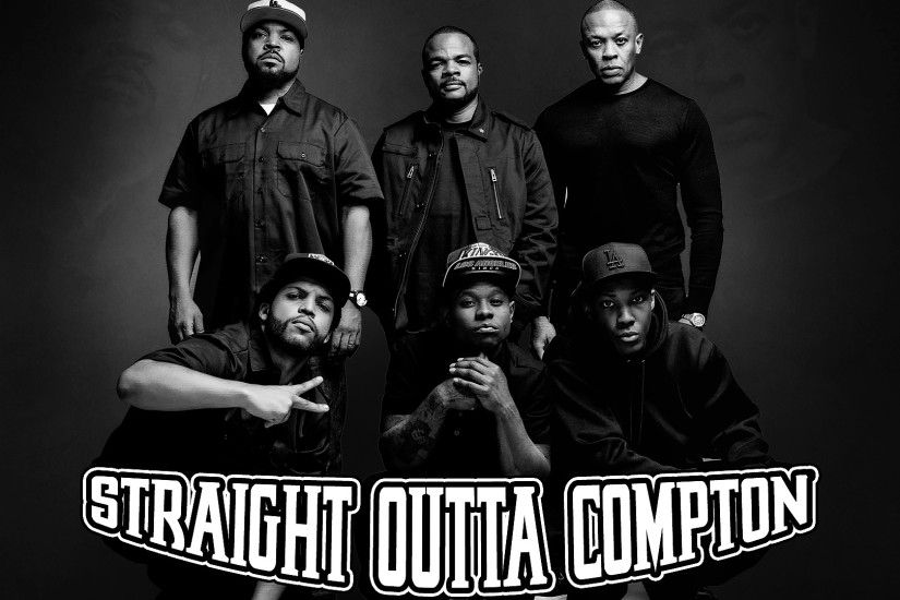 ... Straight outta compton 1920x1080 BW by Mustiih