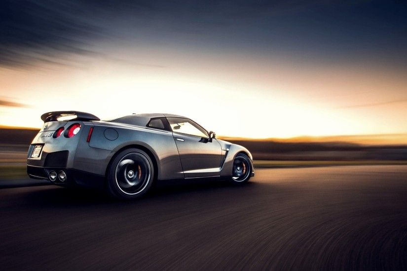 Gtr sunset wallpaper hd download. Nissan R35Gtr ...