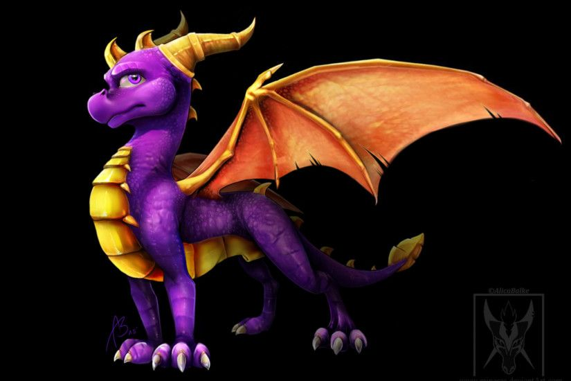 widescreen wallpaper spyro the dragon