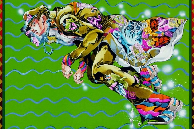 Anime - Jojo's Bizarre Adventure Jotaro Kujo Star Platinum (Jojo's Bizarre  Adventure) Wallpaper