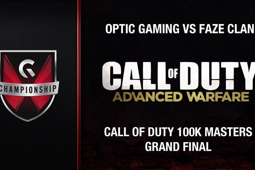 OpTic Gaming vs Faze Clan - GC's 2015 Call of Duty 100k Summer Masters  (Grand Final) - YouTube