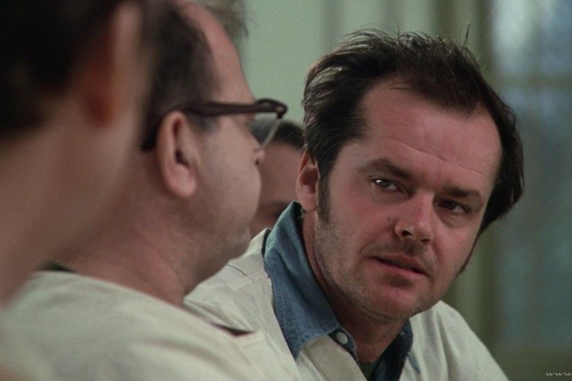 ONE FLEW OVER THE CUCKOOS NEST jack nicholson r wallpaper | 1920x1080 |  178810 | WallpaperUP