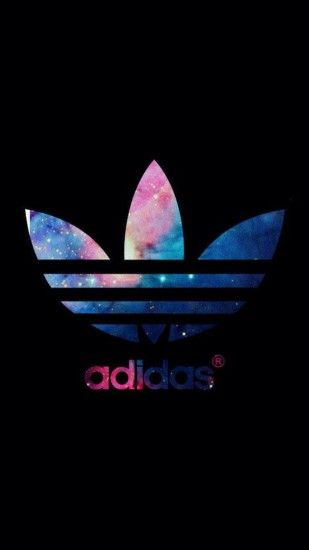 adidas originalsロゴ iPhone壁紙 Wallpaper Backgrounds and Plus