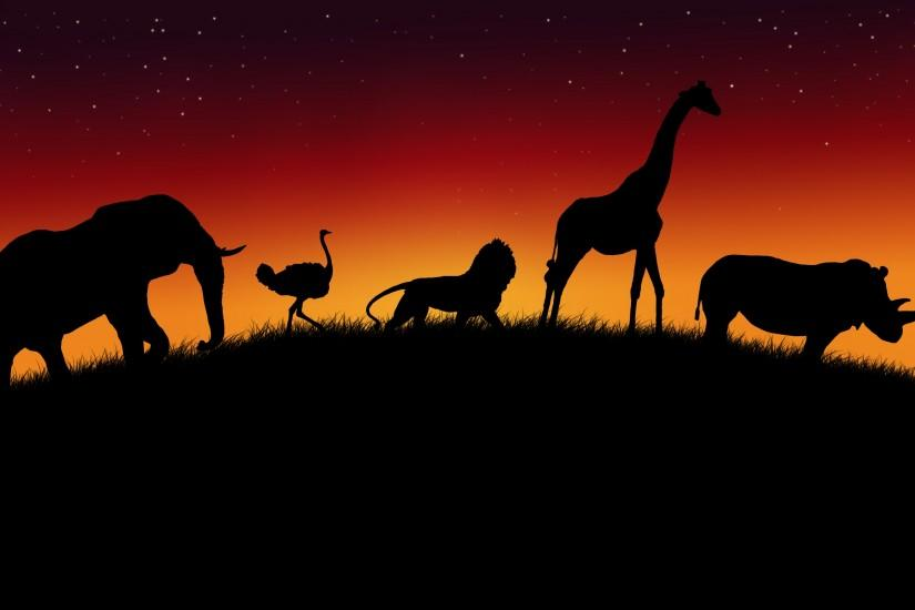 Background Hot Pixel: Background African