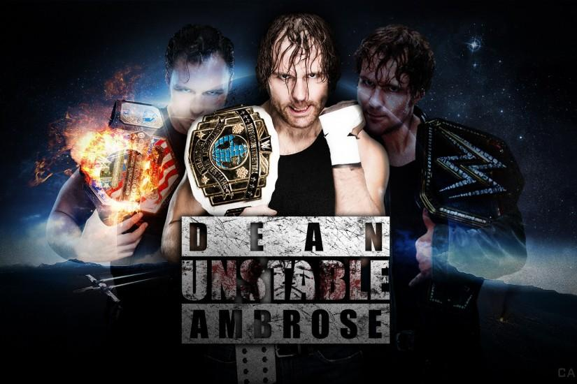 Dean Ambrose - 2016 Wallpaper by DeanMoxley