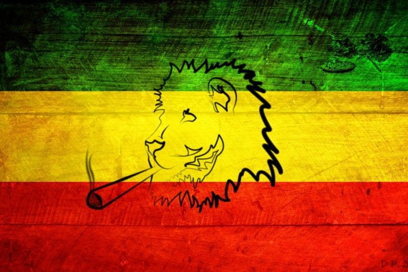 Wallpapers For > Rasta Lion Wallpapers