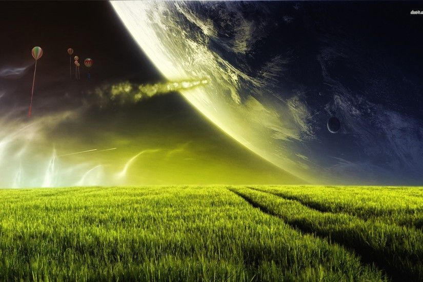 Alien Planet Wallpaper High Definition 14967 - Amazing Wallpaperz