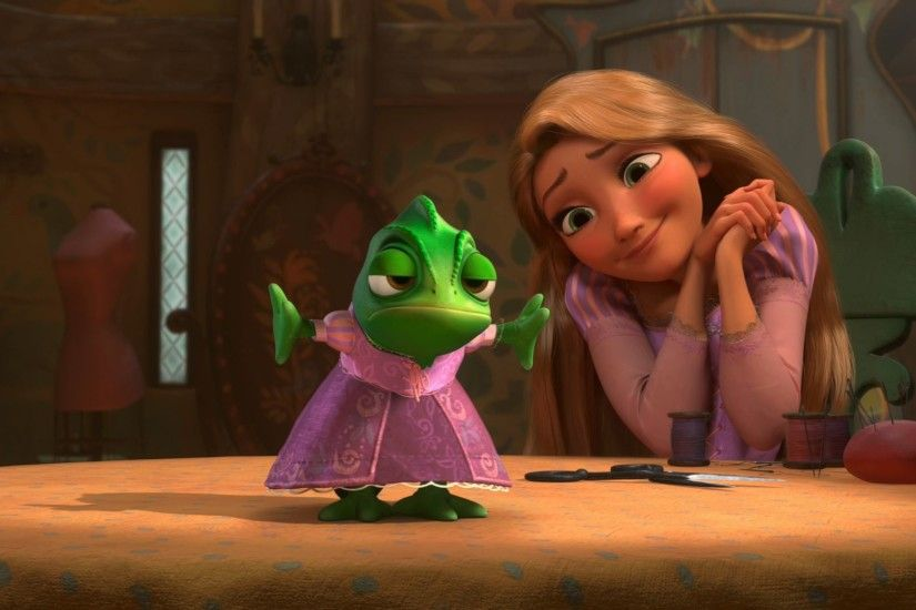 Pascal and Rapunzel from Tangled wallpaper - Click picture for high  resolution HD wallpaper