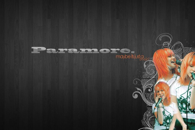 3840x2160 Wallpaper paramore, background, name, girl, red