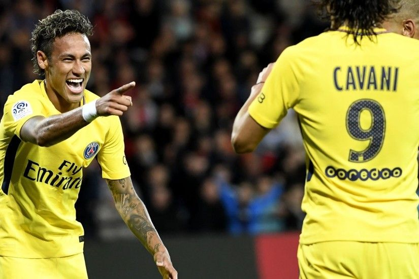 Neymar 'content' with PSG debut