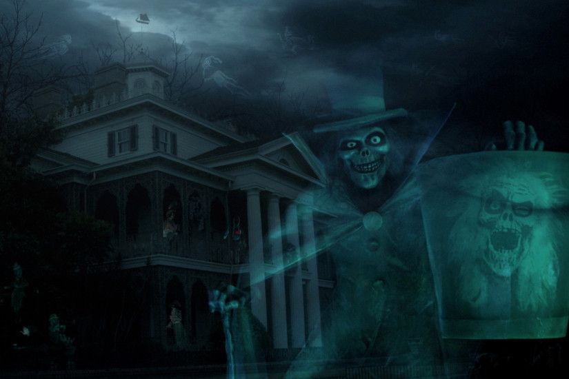 disney haunted house wallpaper - photo #11