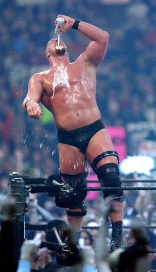 "Steve Austin at Wrestlemania 18 in 2002 ""Stone Cold"" ..."