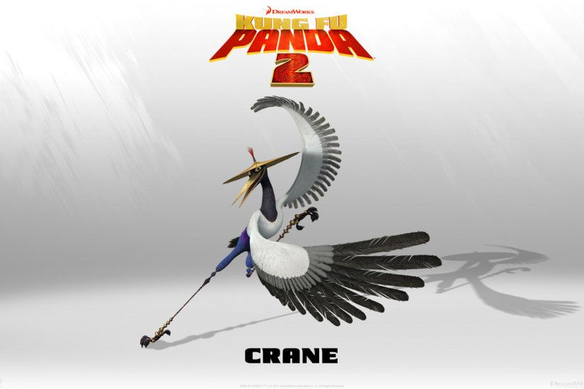 HD Wallpapers Crane in Kung Fu Panda 2