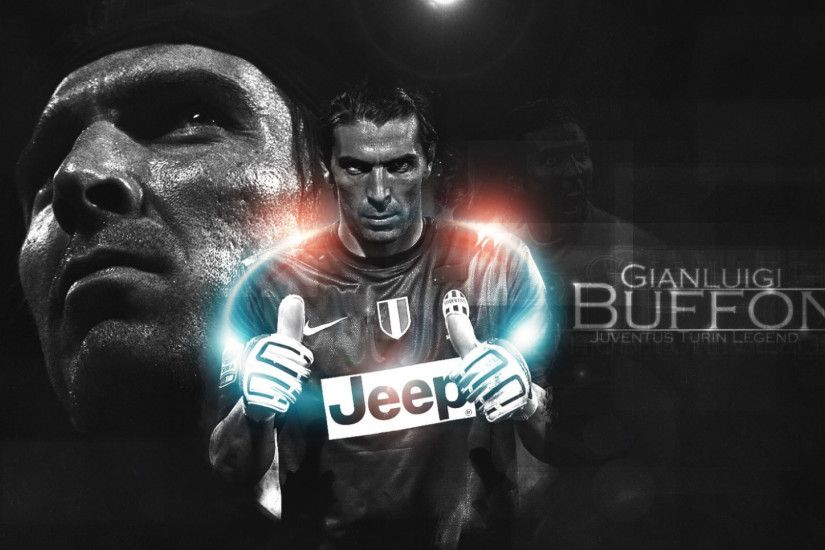 1920x1080 Wallpaper gianluigi buffon, juventus, football player
