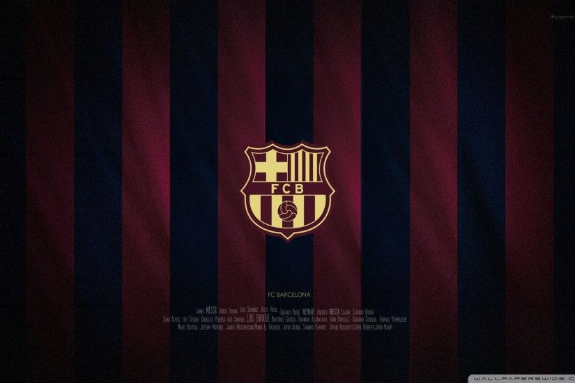 FC Barcelona Emblem HD Wide Wallpaper for 4K UHD Widescreen desktop &  smartphone