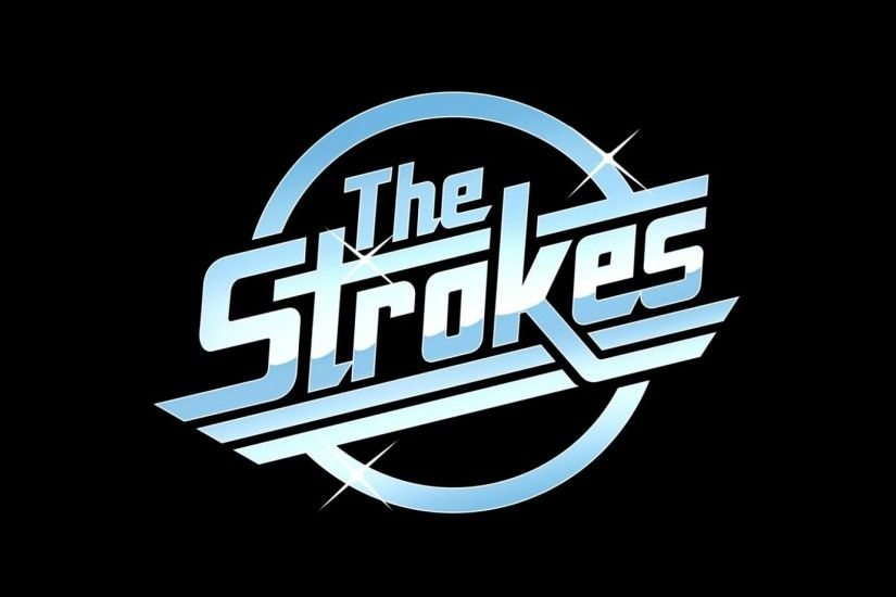 ... the strokes, name, font