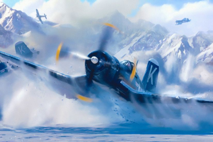 Vought F4u Corsair, Ww2, Painting, War, Aviation, Art
