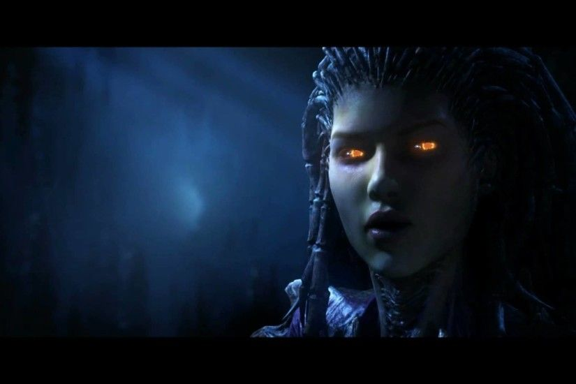 StarCraft 2 Zeratul VS Kerrigan Cinematic Ingame Version Full HD - YouTube