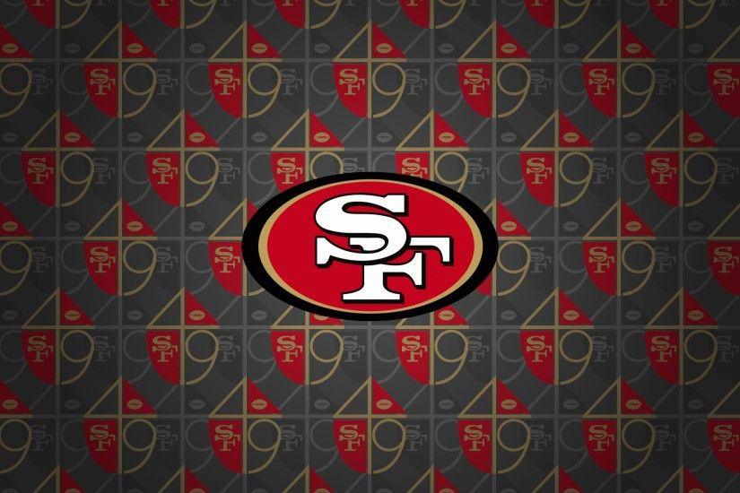 San Francisco 49ers Logo HD Wallpaper.