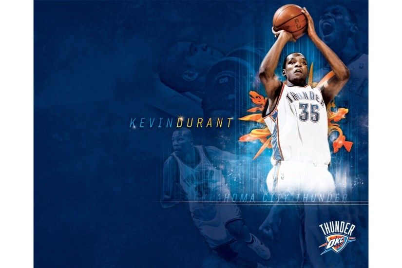OKC Thunder Kevin Durant 4K Wallpapers