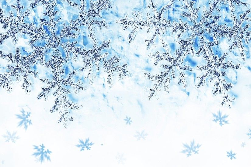 Snowflakes Blue Wallpaper Full HD #491 1920x1080 px 675.35 KB Other  background blue desktop green