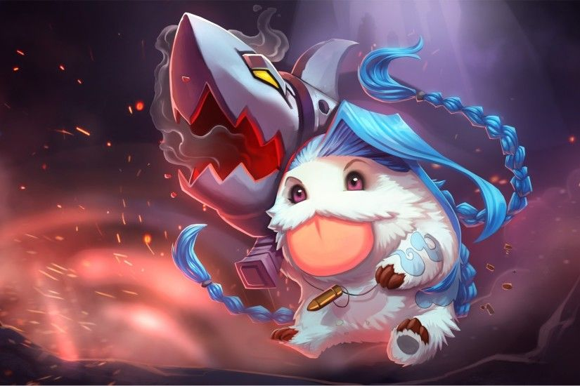League Of Legends, Poro, Jinx Wallpapers HD / Desktop and Mobile Backgrounds