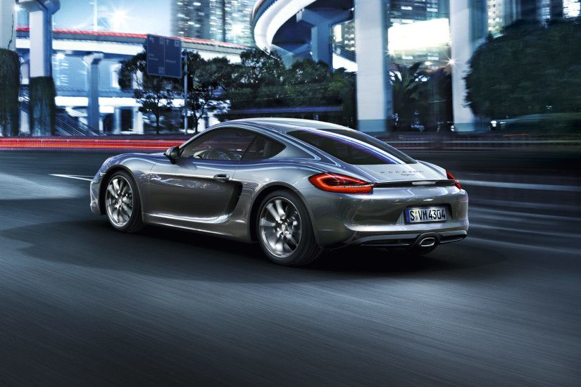 Porsche Cayman S Cool Desktop HD Wallpaper